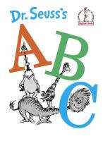 Cover image for Dr. Seuss's ABC