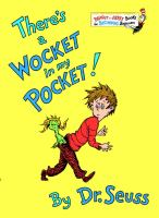 Cover image for There's a wocket in my pocket!