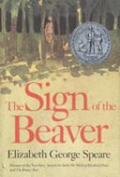 Cover image for The sign of the beaver