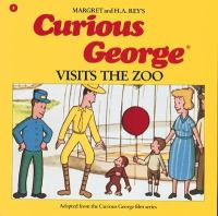 Cover image for Curious George visits the zoo