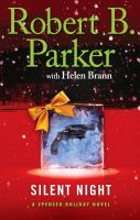 Cover image for Silent night : a Spenser Holiday novel