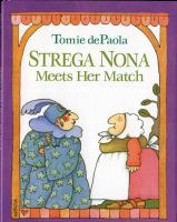 Cover image for Strega Nona meets her match