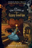 Cover image for The case of the gypsy goodbye