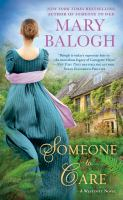 Cover image for Someone to care : a Westcott novel