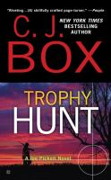 Cover image for Trophy hunt : a Joe Pickett novel