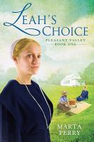 Cover image for Leah's choice