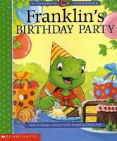 Cover image for Franklin's birthday party