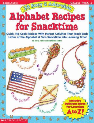 Cover image for 26 easy & adorable alphabet recipes for snacktime