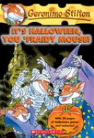 Cover image for It's Halloween, you 'fraidy mouse!
