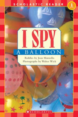 Cover image for I spy a balloon