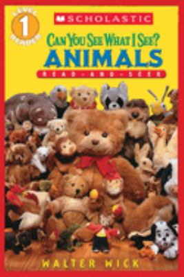Cover image for Can you see what I see? : Animals read-and-seek