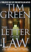 Cover image for The letter of the law