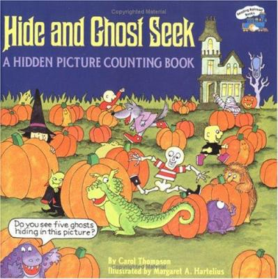 Cover image for Hide and ghost seek : a hidden picture counting book