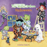 Cover image for The night before Halloween