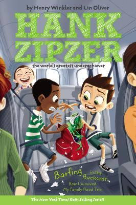 Cover image for Barfing in the backseat : how I survived my family road trip