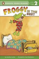 Cover image for Froggy is the best