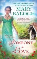 Cover image for Someone to love : a Westcott novel