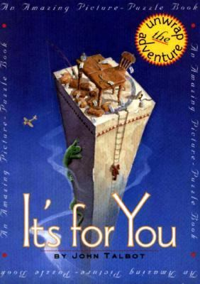 Cover image for It's for you : an amazing picture-puzzle book