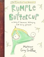 Cover image for Rumple Buttercup : a story of bananas, belonging and being yourself