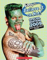 Cover image for Ripley's believe it or not! : special edition 2009.