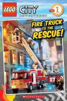 Cover image for Fire truck to the rescue!