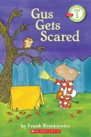 Cover image for Gus gets scared
