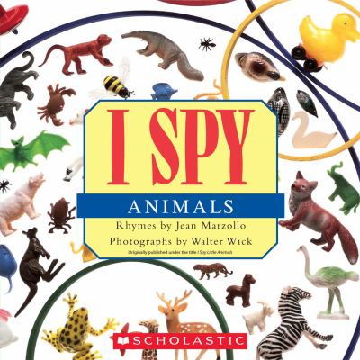 Cover image for I spy animals
