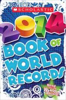 Cover image for Scholastic book of world records