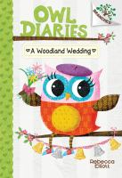 Cover image for Owl diaries. A woodland wedding
