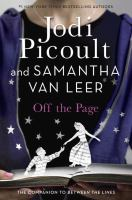 Cover image for Off the page : a novel