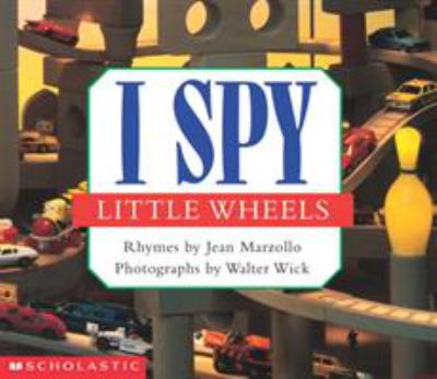 Cover image for I spy little wheels