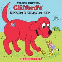 Cover image for Clifford's spring clean-up