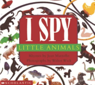 Cover image for I spy little animals