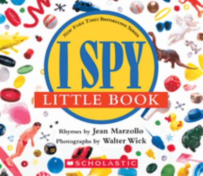 Cover image for I spy little book