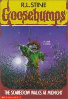 Cover image for Goosebumps. The scarecrow walks at midnight