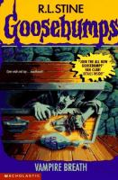 Cover image for Goosebumps. Vampire breath