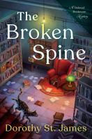 Cover image for The broken spine