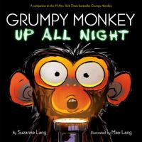 Cover image for Grumpy monkey up all night