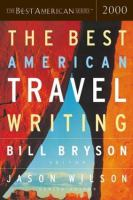 Cover image for The best American travel writing.