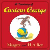 Cover image for A treasury of curious George