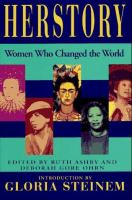 Cover image for Herstory : women who changed the world