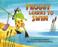 Cover image for Froggy learns to swim