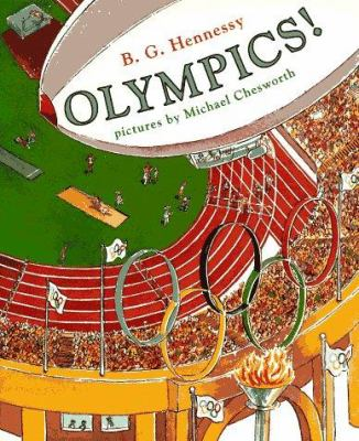 Cover image for Olympics!