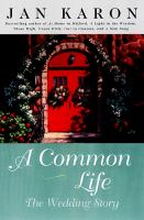 Cover image for A common life : the wedding story