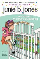 Cover image for Junie B. Jones and a little monkey business