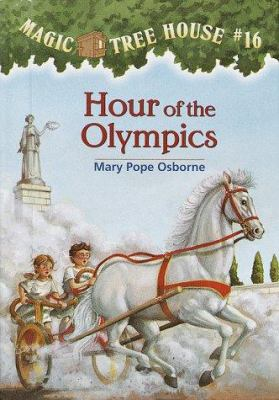 Cover image for Magic tree house. #16, Hour of the Olympics