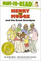 Cover image for Henry and Mudge and the great grandpas : the twenty-sixth book of their adventures