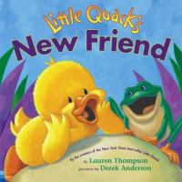 Cover image for Little Quack's new friend