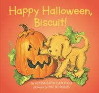 Cover image for Happy Halloween, Biscuit!