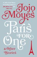 Cover image for Paris for one and other stories